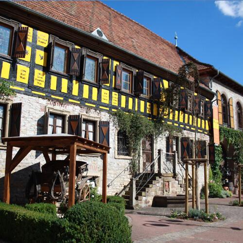 Titelbild: Gondelsheim - Gasthaus LoewenThor