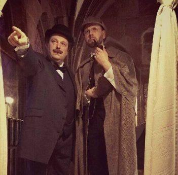 Titelbild: Sherlock Holmes und die Loge der Rothaarigen